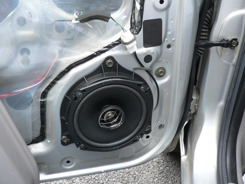 FNB15 サニー EXサルーン フロントドアスピーカー交換