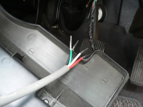 配線接続テスト