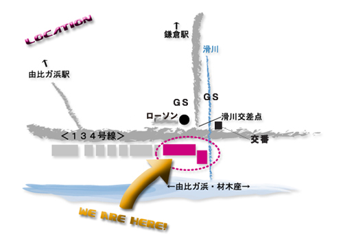 kamakura beach resort map