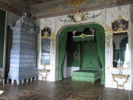 ルンダーレ宮殿 寝室