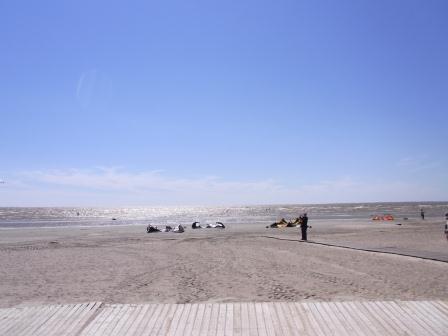バルト海 パルヌの海岸