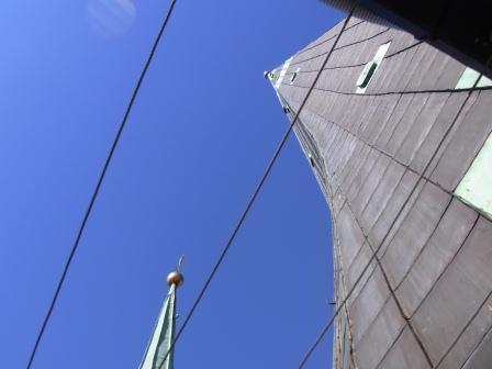鐘楼に上った証拠写真