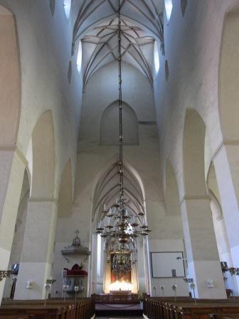 聖オレフ教会 内部
