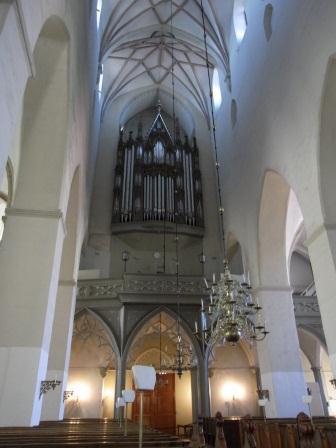 聖オレフ教会 パイプオルガン