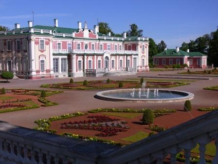 カドリオルグ宮殿全景