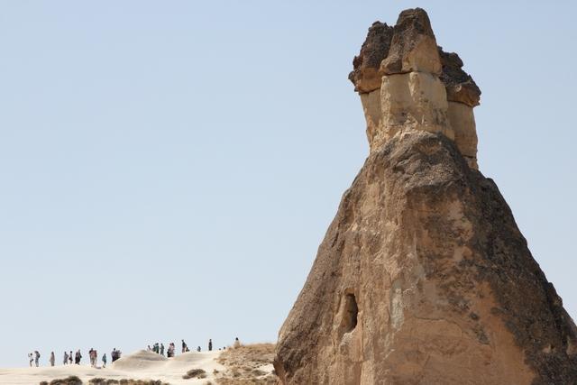 有名なきのこ岩