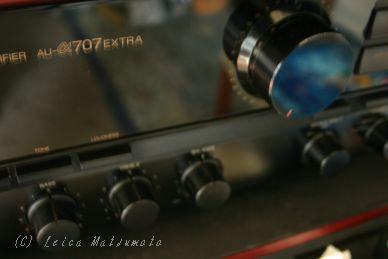 不具合の出てきたAU-α707EX