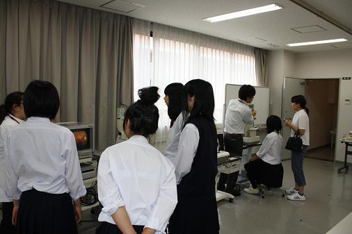 実習体験(8/14)視能訓練士科
