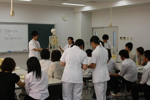 実習体験(8/28)作業療法士科