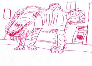 12U太の書いた怪獣