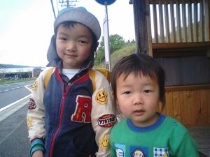 1U太とKAN太201105