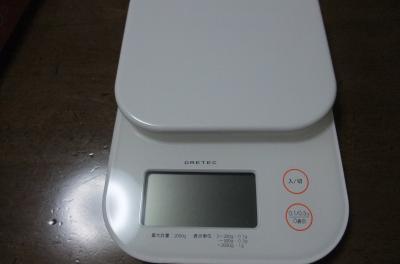 上様の体重計。