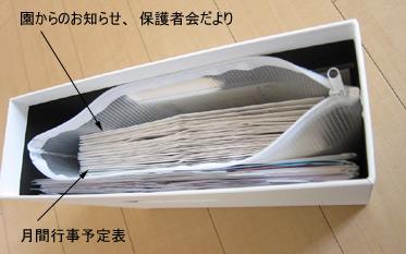 子供関係の書類 収納