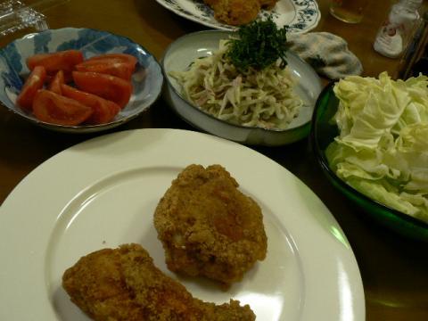 2011年3月7日夕食