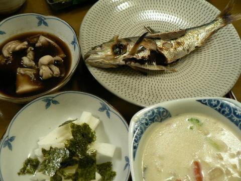 2011年3月16日夕食
