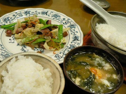 2011年3月19日夕食