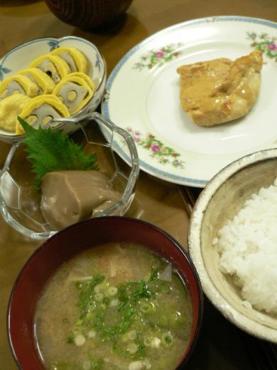 2011年3月25日夕食