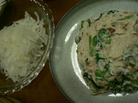 2011年4月3日夕食