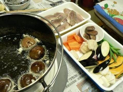 2011年4月5日夕食