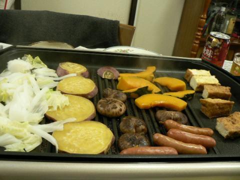 2011年4月21日夕食