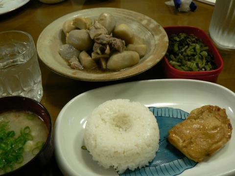 2011年4月22日夕食
