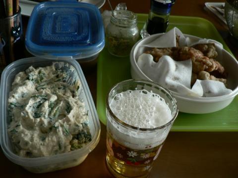 2011年4月24日昼食で飲む・・・むふふ