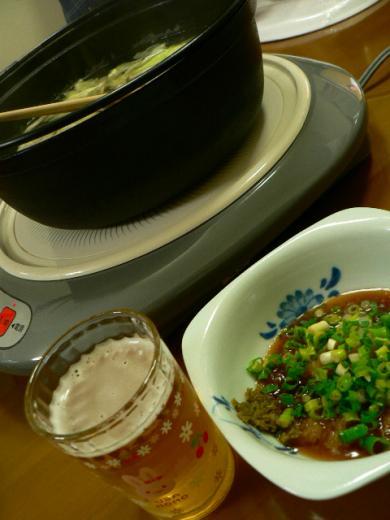 2011年5月15日夕食