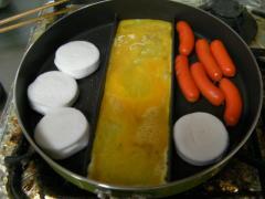 センターエッグパン