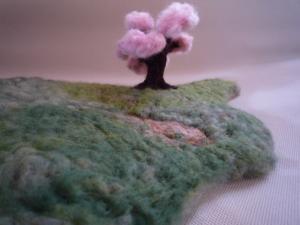 大久野島 (羊毛作品)