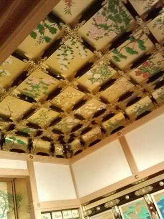 熊本城の天井~。