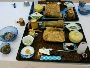 高千穂四季見の夕食