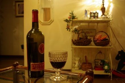娘anzuのお知り合いから頂いた極上のワイン。