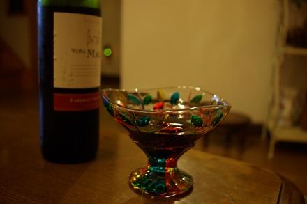 マイ…ワイングラス…