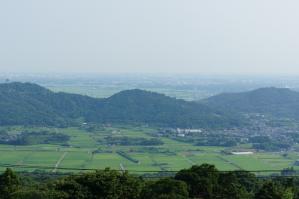 筑波山からの景色