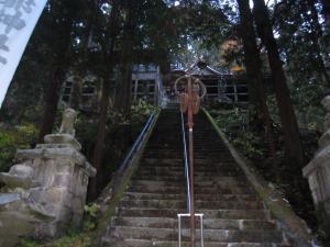 下本殿階段