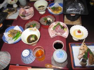 竹野屋 夕食