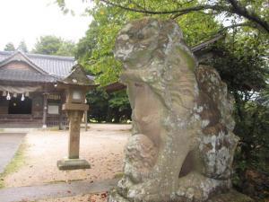 御井神社 狛犬
