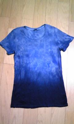 藍染めシャツ!
