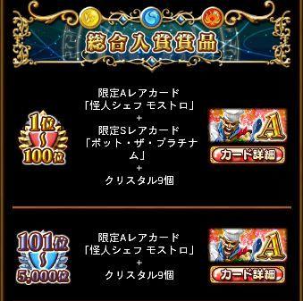 魔道杯14 10月 総合 2