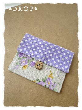 カードケース 紫