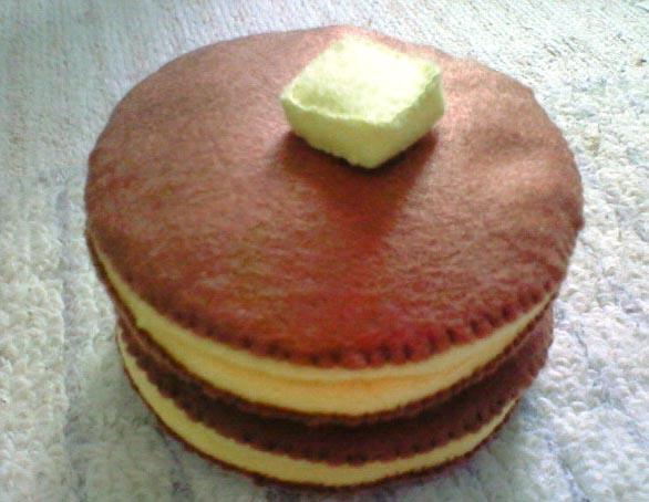 ホットケーキ修正