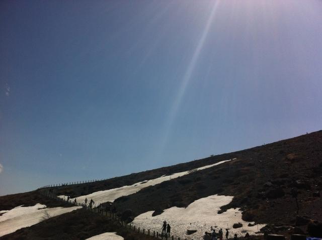 那須岳登山2