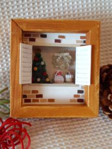 クリスマス窓ケーキ