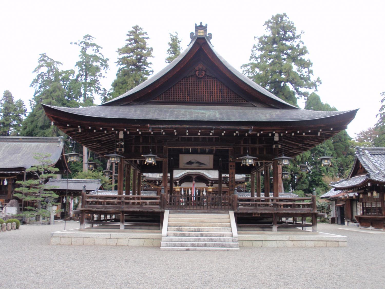佐々木神社・拝殿