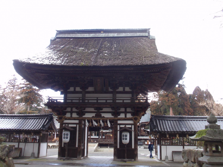 佐々木神社・楼門