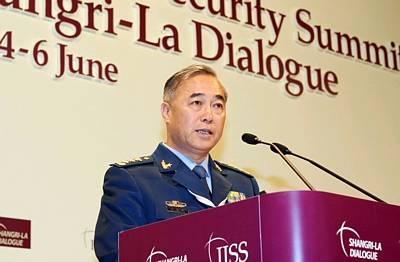 馬曉天出席第九屆亞洲安全大會。新華社