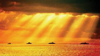 日益強大的中國海軍