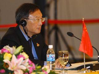 726 國外交部長(如圖)警告美國,不要將南海議題擴大為國際事件。(法新社提供)
