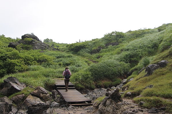 14栗駒山登山4