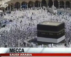 Thousands Gather in Mecca for Hajj